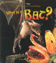 Cover of: What is a bat?
