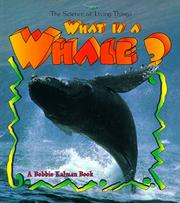 Cover of: What is a whale?