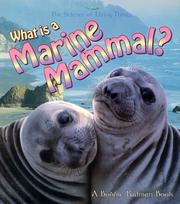 Cover of: What is a marine mammal?