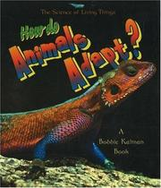 Cover of: How do Animals Adapt? (The Science of Living Things)