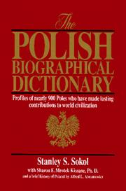 Cover of: The Polish biographical dictionary