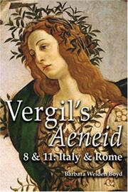 Cover of: Vergil's Aeneid 8 & 11: Italy & Rome