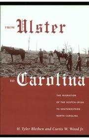 Cover of: From Ulster to Carolina