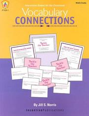 Cover of: Vocabulary Connections | Imogene Forte