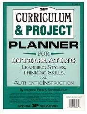 Cover of: Curriculum & Project Planner | Imogene Forte