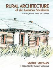 Cover of: Rural architecture of northern New Mexico and southern Colorado