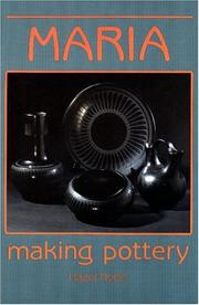 Maria making pottery by Hazel Hyde
