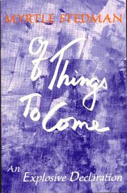 Cover of: Of things to come