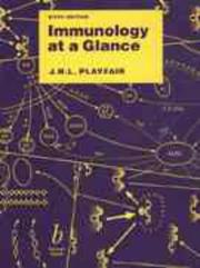 Immunology at a glance by J. H. L. Playfair