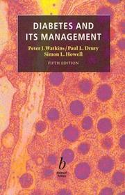 Diabetes and Its Management by Peter J. Watkins