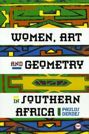 Cover of: Women, art and geometry in Southern Africa