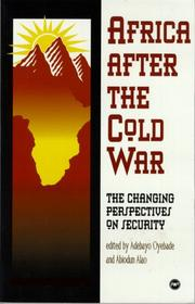 Cover of: Africa after the Cold War