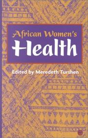 Cover of: African Women's Health