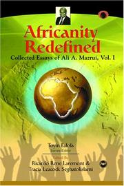Cover of: Africanity redefined