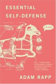 Cover of: Essential self-defense