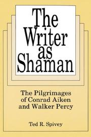 Cover of: The writer as shaman