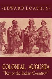 Cover of: Colonial Augusta