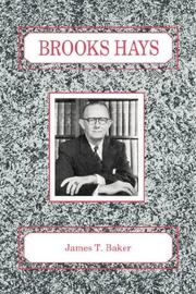 Cover of: Brooks Hays