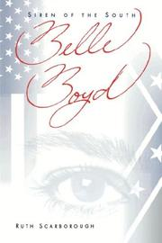 Cover of: Belle Boyd