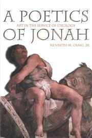 Cover of: A poetics of Jonah