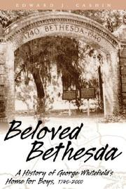 Cover of: Beloved Bethesda