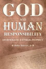 Cover of: God and Human Responsibility | Rufus, Jr. Burrow