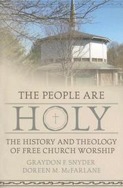 Cover of: The people are holy