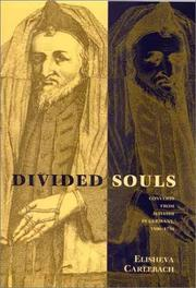 Divided souls by Elisheva Carlebach