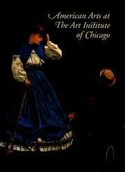 Cover of: American Arts at The Art Institute of Chicago | Judith Barter