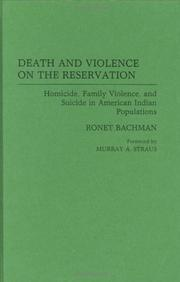 Cover of: Death and violence on the reservation