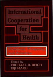 Cover of: International Cooperation for Health |