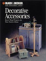Cover of: Decorative Accessories | The Home Improvement Editors of Creative Publishing international