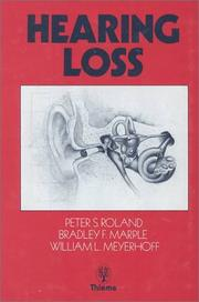 Cover of: Hearing loss