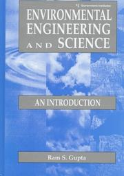 Cover of: Environmental engineering and science | Ram S. Gupta