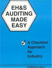 Cover of: EH&S auditing made easy