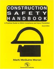 Cover of: Construction Safety Handbook