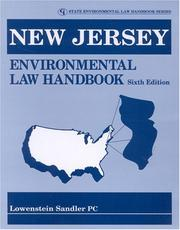 Cover of: New Jersey environmental law handbook |