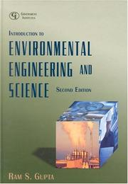 Cover of: Introduction to environmental engineering and science