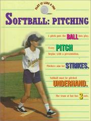 Cover of: Softball--pitching