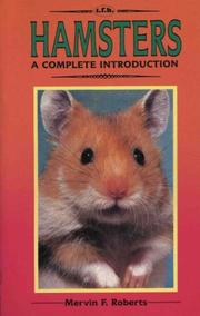 Cover of: Hamsters | Mervin F. Roberts