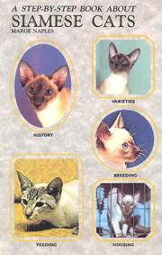 Cover of: A step-by-step book about Siamese cats