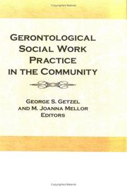 Cover of: Gerontological social work practice in the community