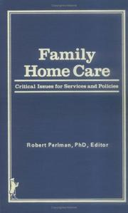 Cover of: Family Home Care