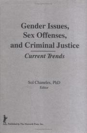 Cover of: Gender Issues, Sex Offenses, and Criminal Justice