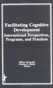 Cover of: Facilitating cognitive development |