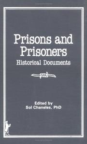 Cover of: Prisons and prisoners