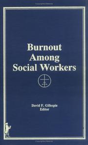Cover of: Burnout Among Social Workers (Journal of Social Service Research 10) (Journal of Social Service Research 10)