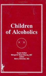 Cover of: Children of Alcoholics (4) (4)