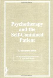 Cover of: Psychotherapy and the Self Contained Patient | E. Mark Stern