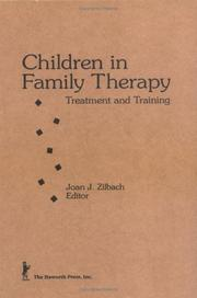 Cover of: Children in family therapy